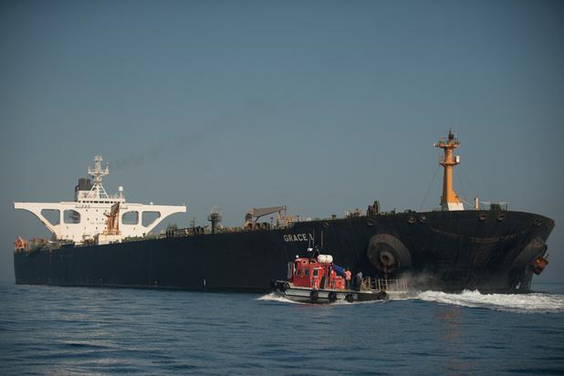 Washington dreigt ermee bemanning van Iraanse supertanker visa te ontzeggen