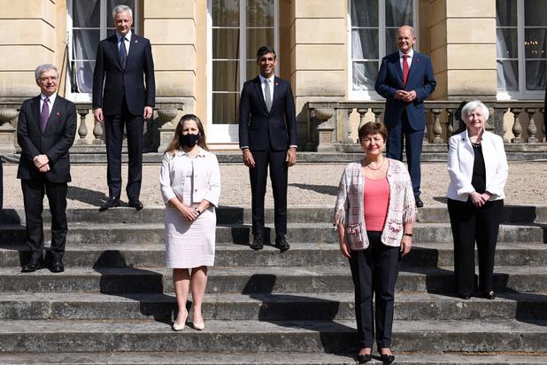 """Accord """"historique"""" au G7 Finances sur un impôt minimum sur les sociétés"""