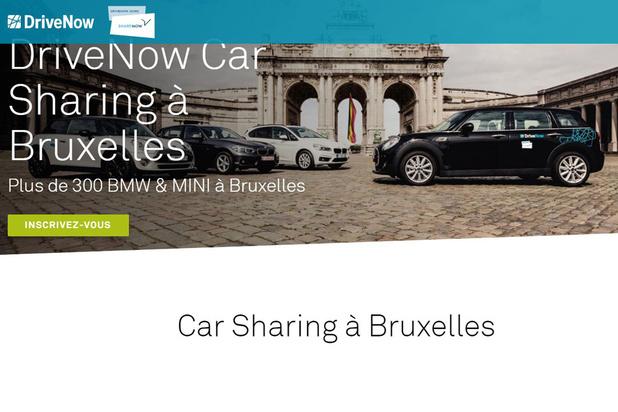 Plus de 1.000 trajets en moyenne par jour avec Share Now à Bruxelles