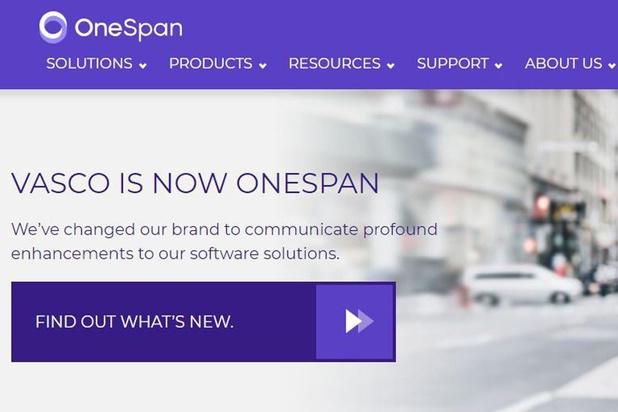 OneSpan entend accroître la part des logiciels dans son CA