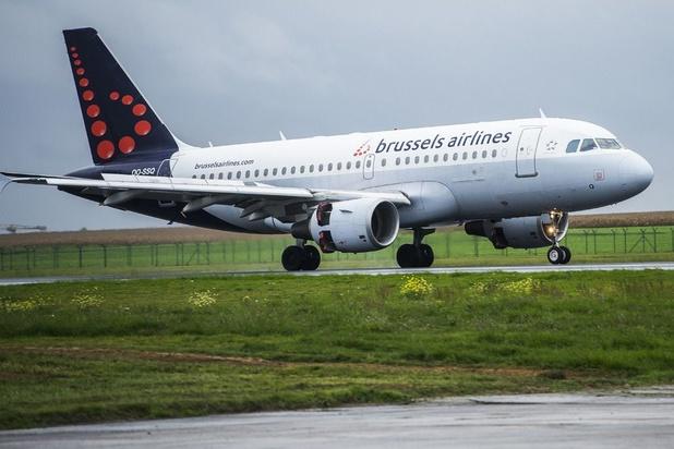 Les actions des contrôleurs aériens ont déjà coûté 4 millions d'euros à Brussels Airlines
