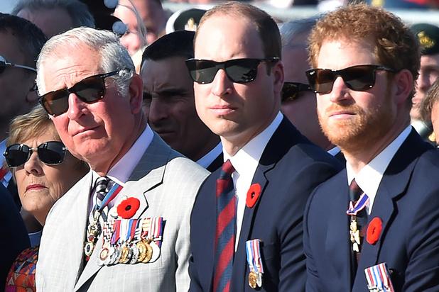 Le prince Harry aurait discuté avec son frère William et son père, le prince Charles