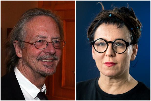 Olga Tokarczuk en Peter Handke winnen Nobelprijs voor Literatuur