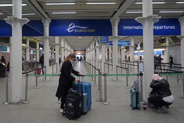 La Belgique suspend les trains et vols en provenance du Royaume-Uni