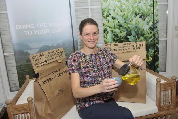 Annabelle Maes uit Ingelmunster is theesommelier en heeft eigen webshop
