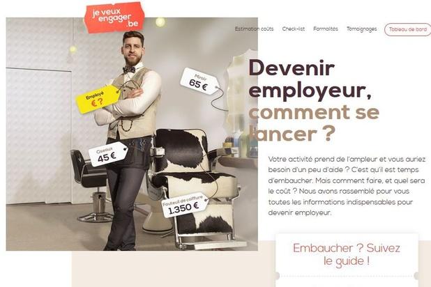 """""""Jeveuxengager.be"""", un nouveau site web incontournable pour les futurs employeurs"""