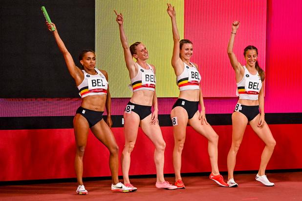 Les Belgian Cheetahs 7e de la finale du 4x400 m avec un record de Belgique