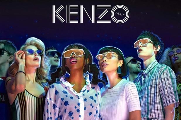 Kenzo lanceert voor het eerst een collectie zonnebrillen