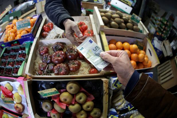 Inflatie eurozone weer positief