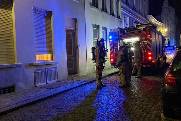 Bewoners vergeten pot op het vuur in Brugge