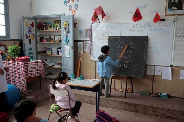 Frans in opmars in Marokko: verovert de taal ook de wiskundeklas?