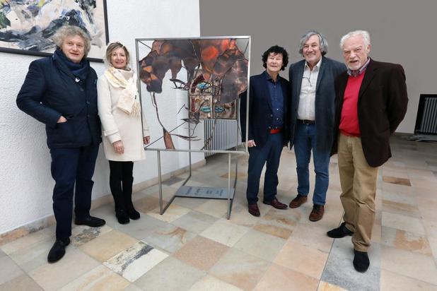 Kunstproject AhA in Groenhove nog tot eind januari te zien