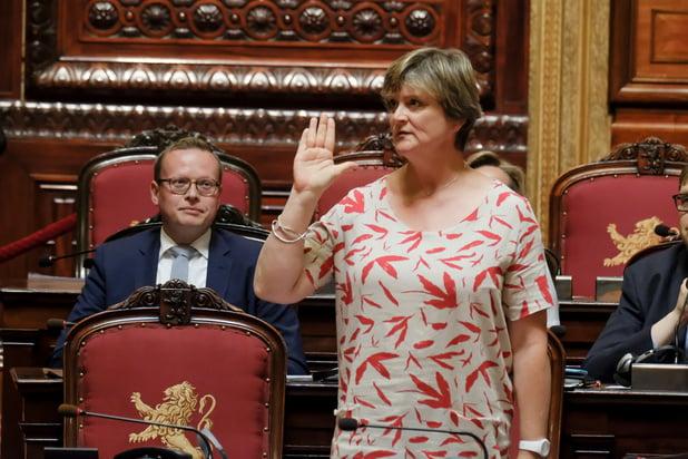 Sabine Laruelle nieuwe Senaatsvoorzitster