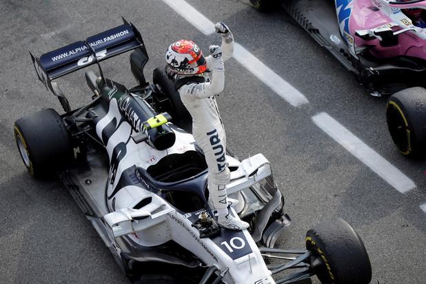 F1: Pierre Gasly remporte un GP d'Italie mouvementé