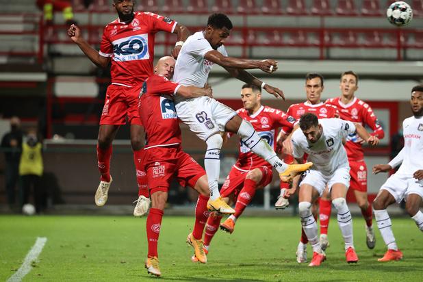 Jupiler Pro League: Anderlecht décroche sa quatrième victoire de la saison à Courtrai