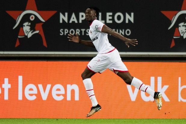 Antwerp wint bij AA Gent: 1-2