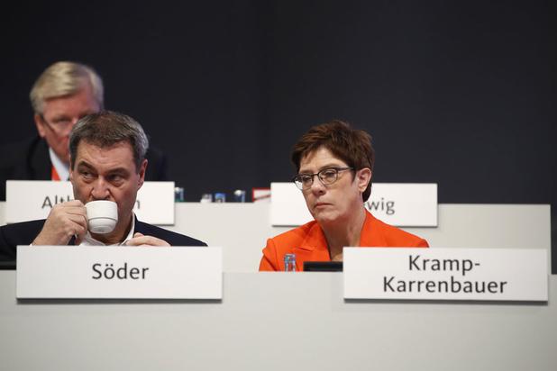 'Wie wordt de rijzende ster na Merkel?'