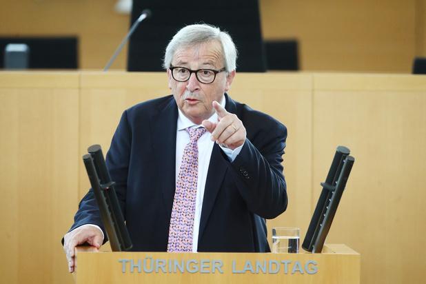 Juncker défend la BCE, attaquée par Donald Trump