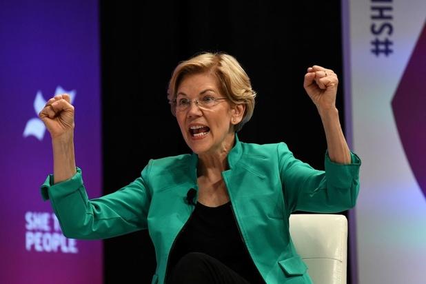 Maison Blanche: Warren, la démocrate qui grimpe grâce à son programme