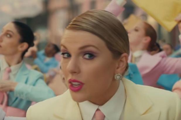 Taylor Swift sort un nouveau clip haut en couleur