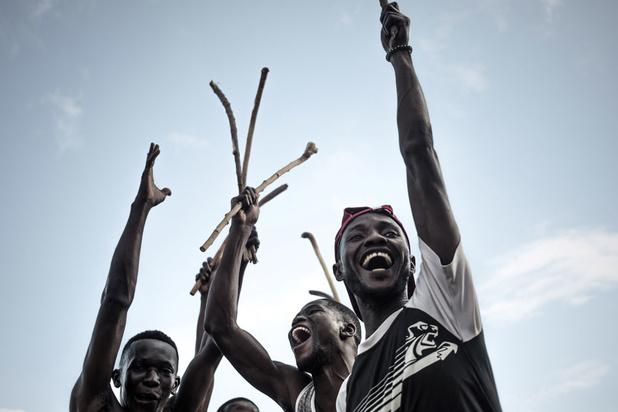 Le Ngbaba, ce sport africain qui a failli tomber dans l'oubli (en images)