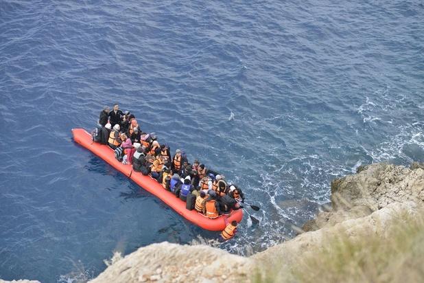 Italiaanse autoriteiten redden 57 migranten ter hoogte van Lampedusa