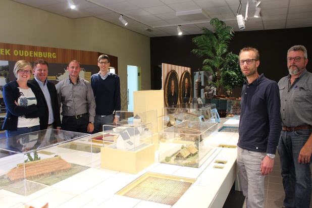 Tijdstafel toont geschiedenis van Oudenburg
