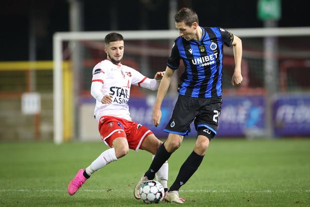 Mouscron tient en échec le Club de Bruges 0-0