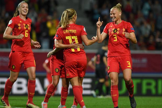 Euro féminin 2021: les Red Flames explosent la Croatie
