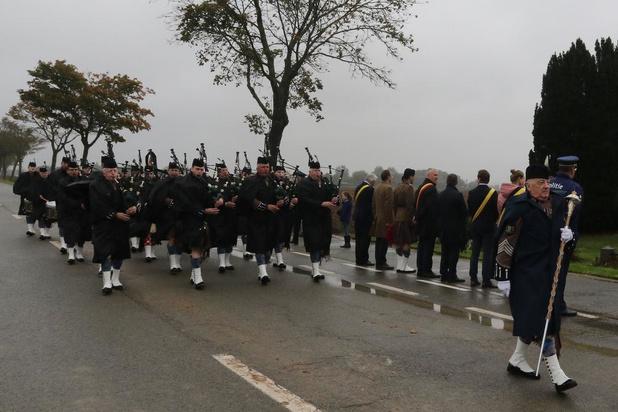 Herdenking London Scottish Regiment