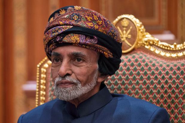 Le sultan d'Oman se rend en Belgique pour des examens médicaux