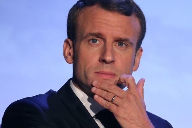 Drie medewerkers Frans president Emmanuel Macron opgeroepen door justitie