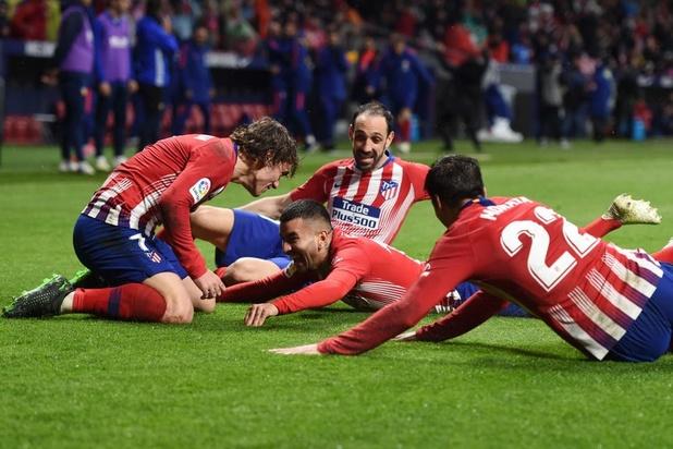 L'Atlético surmonte Valence et retarde le titre du Barça