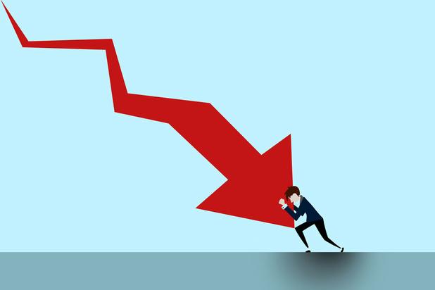 La croissance en baisse de 6,3% en 2020, le recul le plus marqué depuis la Deuxième Guerre