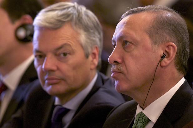 L'ambassadeur turc à Bruxelles convoqué par Reynders