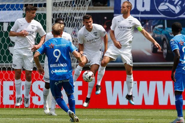Eupen encore sévèrement battu à La Gantoise (6-1)