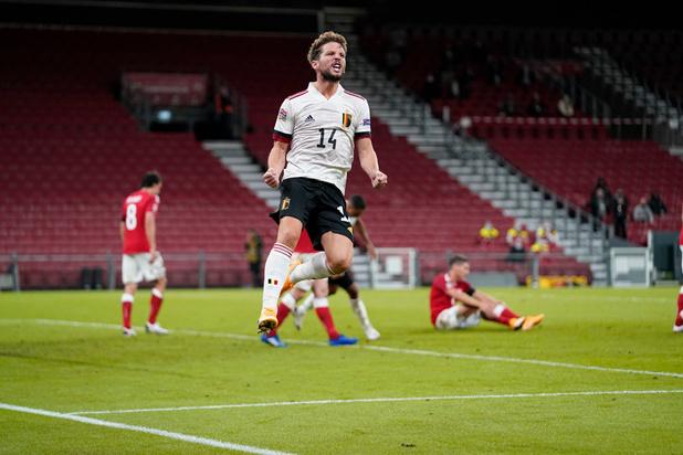 La Belgique, peu flamboyante mais réaliste, s'impose 0-2 au Danemark