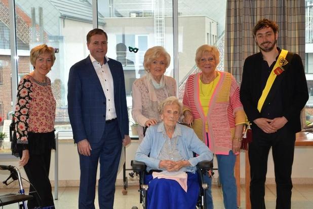 Oudste Poperingenaar viert 102ste verjaardag