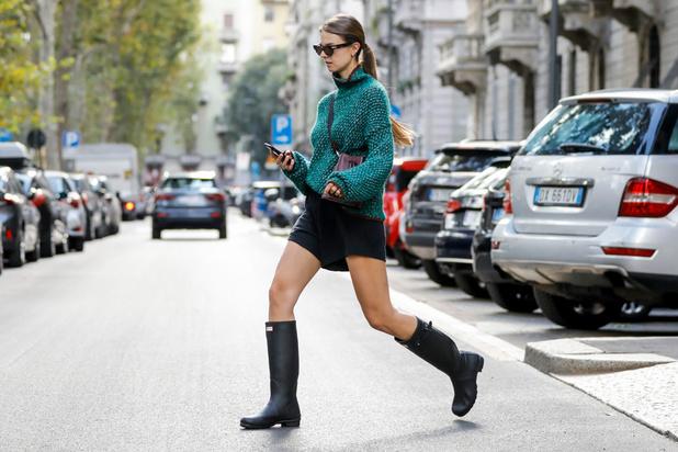 Des bottes qui nous font aimer la pluie