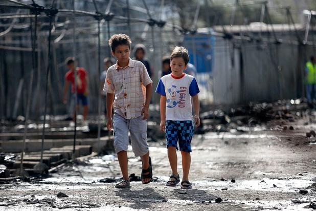 """1.600 enfants migrants """"probablement"""" évacués la semaine prochaine de Grèce"""