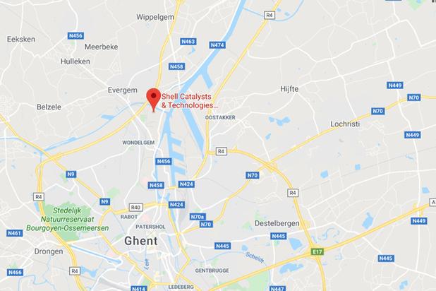 Nuage jaune à Gand: la situation sous contrôle