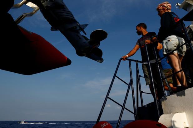 Reddingsschip Alan Kurdi vraagt andere Europese landen om hulp