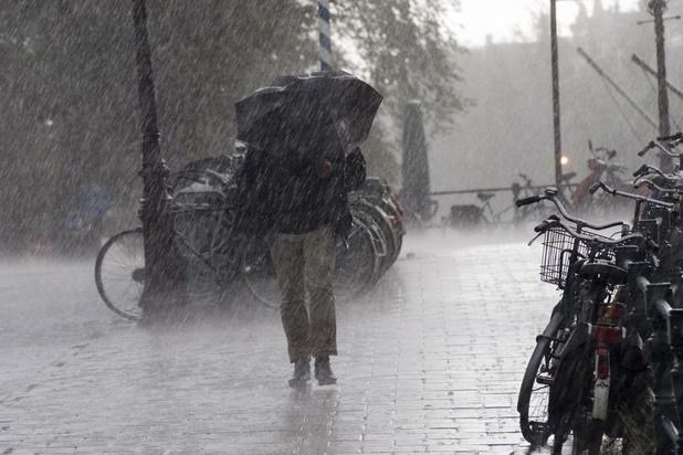 Une matinée au rythme des averses ou orages