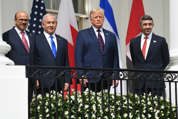 Israël, Emirats et Bahreïn signent des accords historiques sous l'égide de Trump