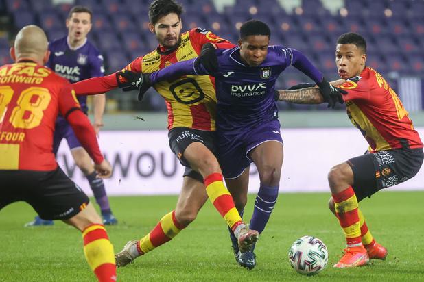 Jupiler Pro League: Anderlecht signe son 13e partage de la saison contre Malines (1-1)