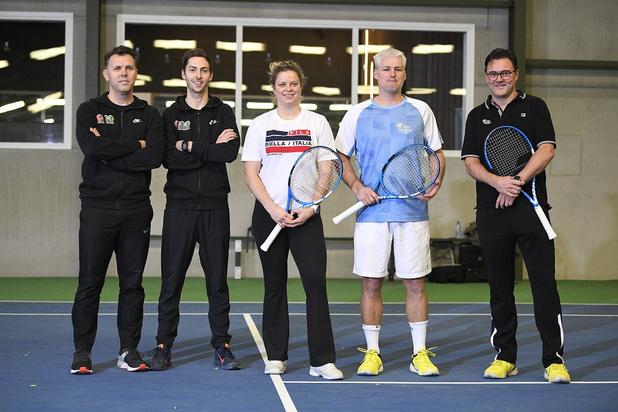 Kim Clijsters dévoile son staff: voici son nouveau coach