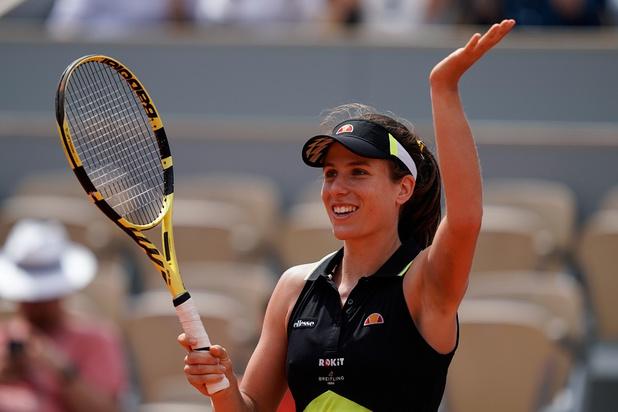 Johanna Konta première qualifiée pour les demi-finales