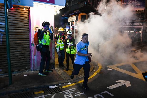 Hong Kong: décès d'un étudiant qui avait chuté lors d'émeutes