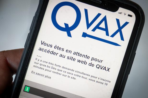 Près de 330.000 inscrits sur la plateforme Qvax
