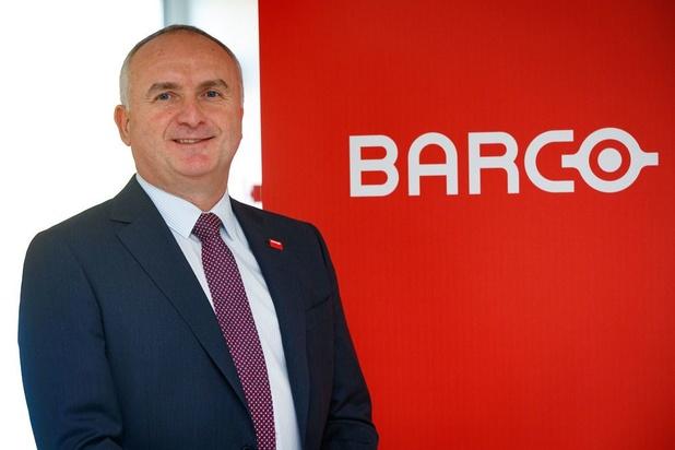 Baisse de près de 30% du chiffre d'affaires de Barco en 2020